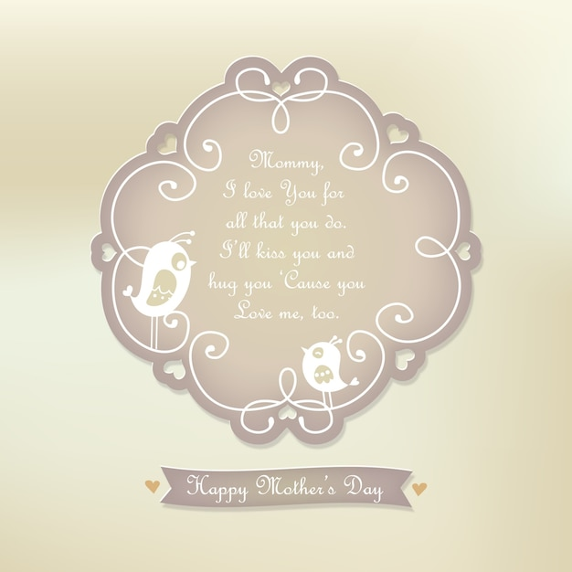 Mother\'s day quote background