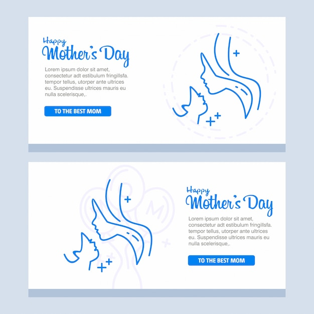 Mother\'s day with blossom flowers