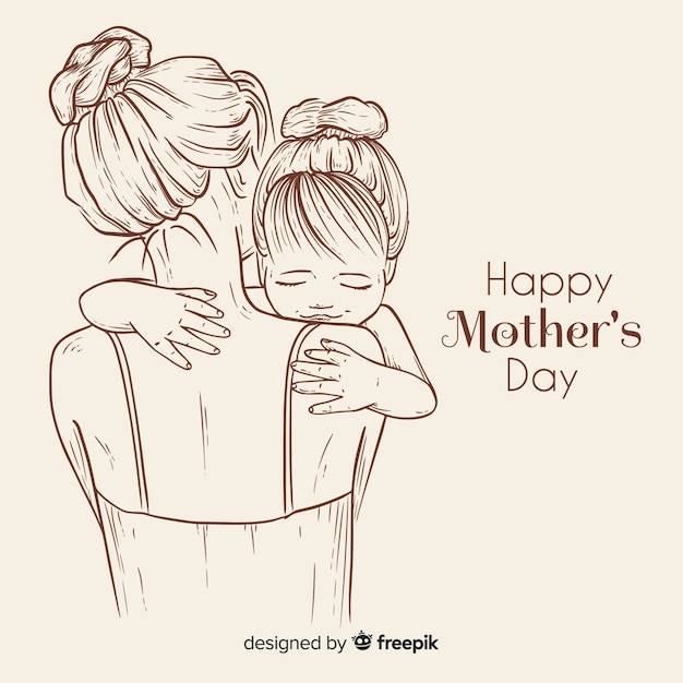 Mother's day Free Vector