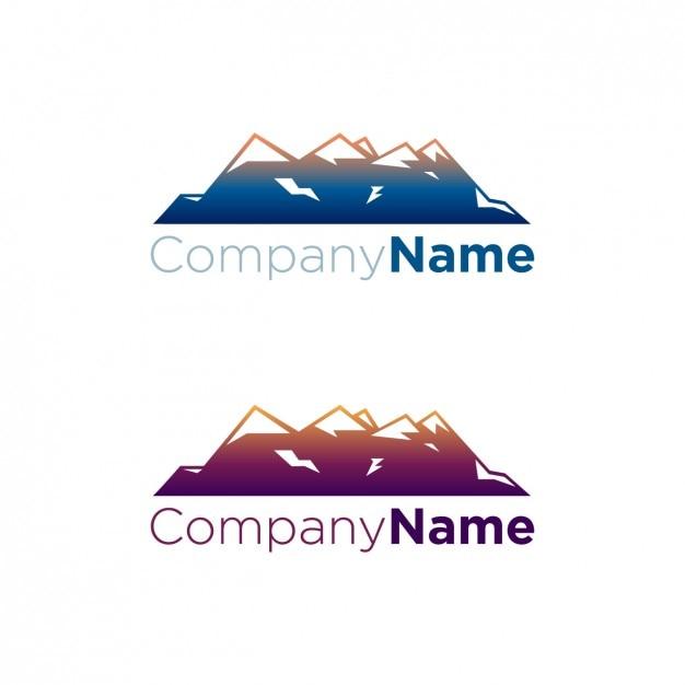 Mountains logo pack