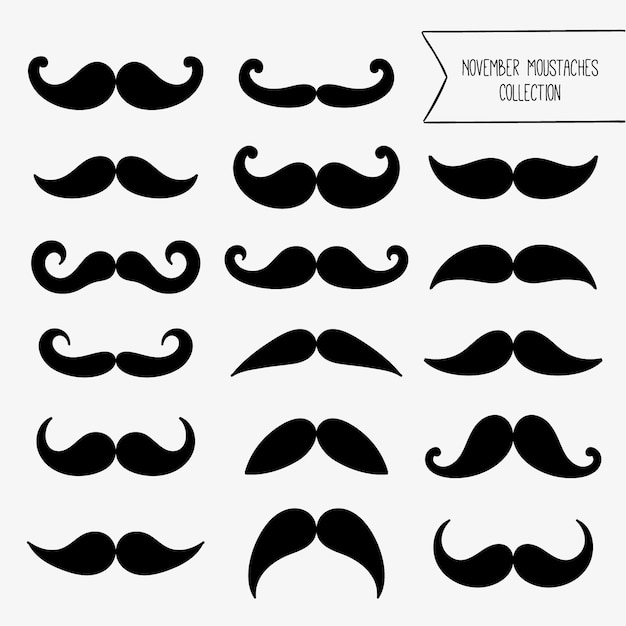 Moustache Vectors, Photos and PSD files | Free Download