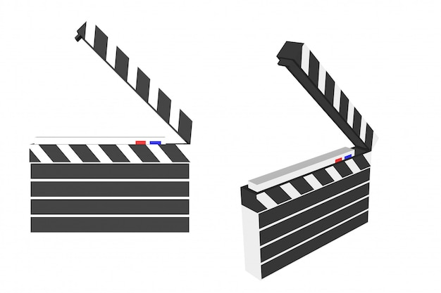 Movie equipment Premium Vector