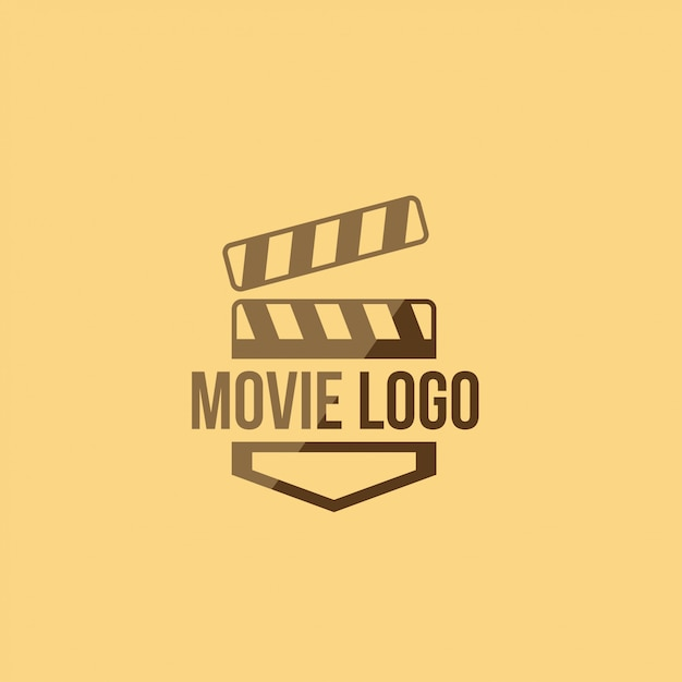 Movie logo Premium Vector