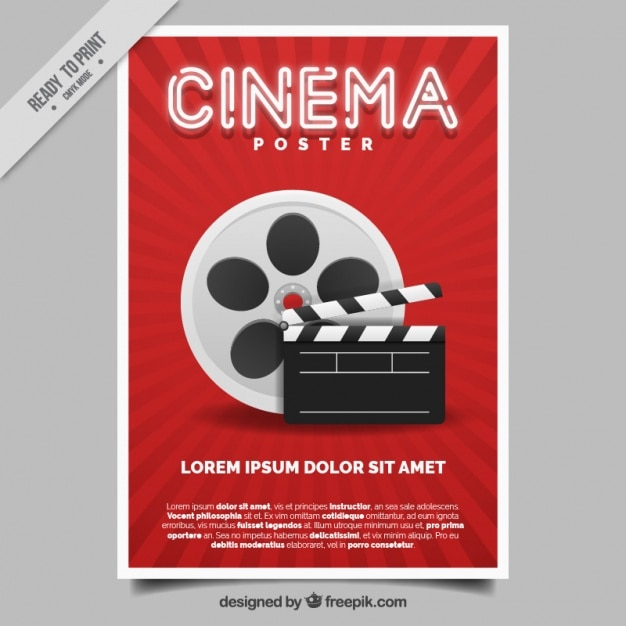 Movie poster Vector | Free Download