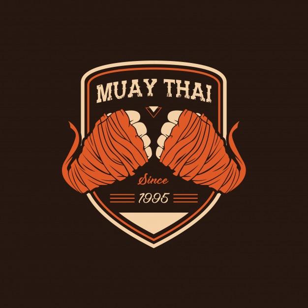 Muay Thai Vector Premium Download