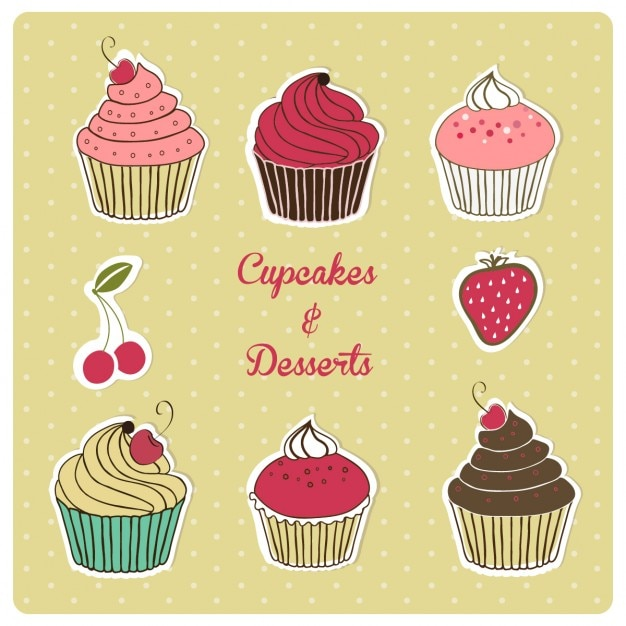 Muffins Free Vector