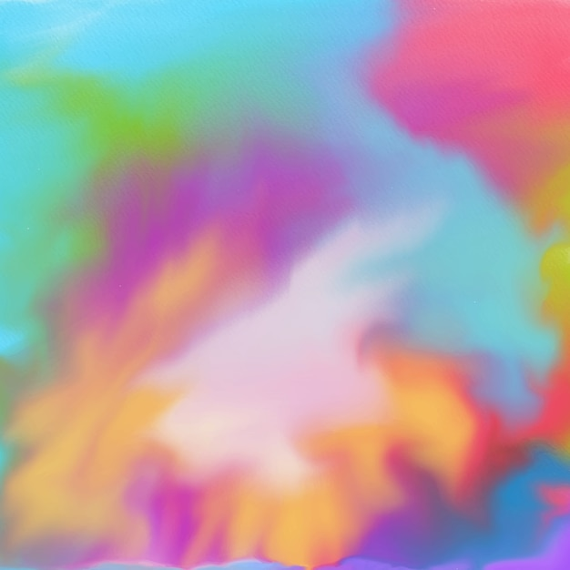 Multi colored watercolor texture background
