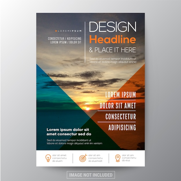 Multi Purpose Template Design For Flyer Leaflet Poster