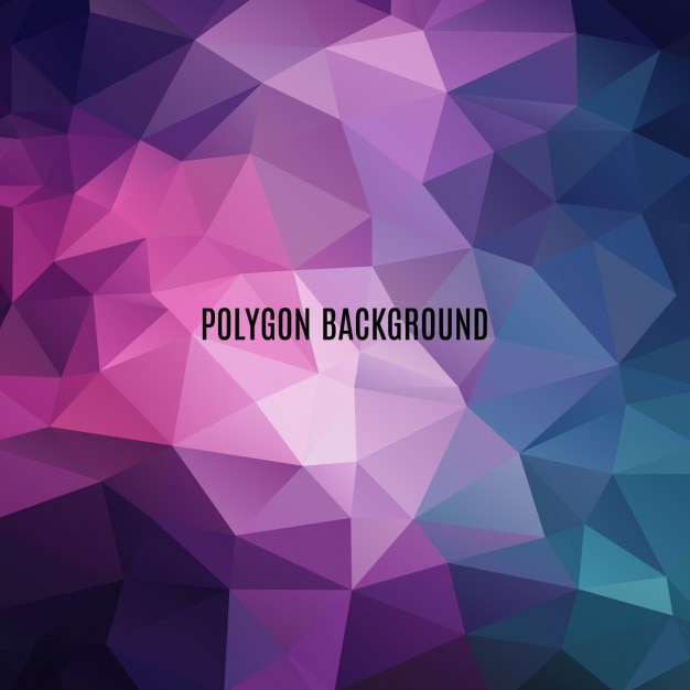 multicolor polygonal background design vector free download