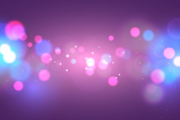 Multicolored bokeh background Free Vector