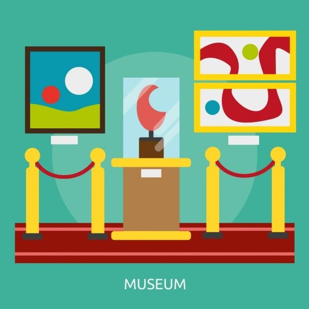 Museum background design