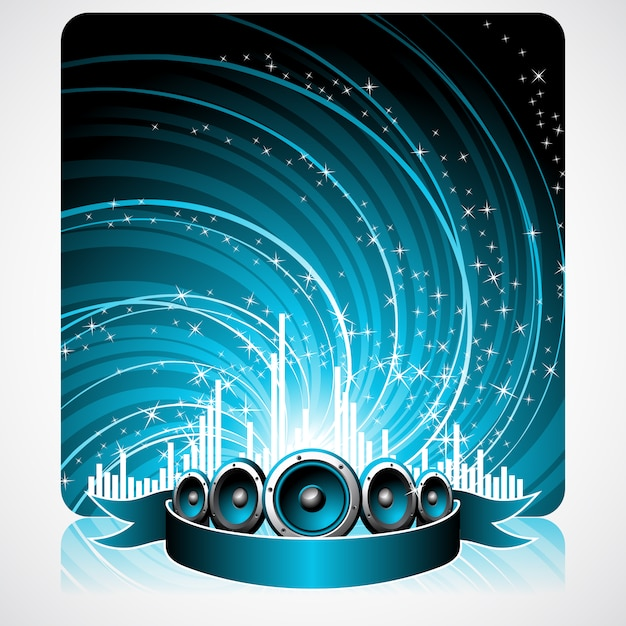 Music background design Vector | Free Download