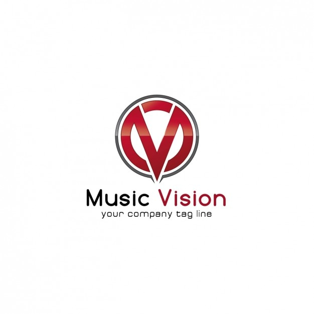 Music Company Logo template