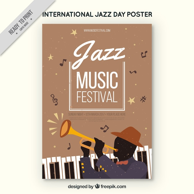 Music Festival Brochure Vector  Free Download