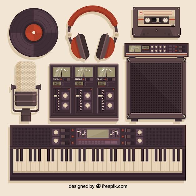 Free download top recording studio equipment wallpapers [1247x780.