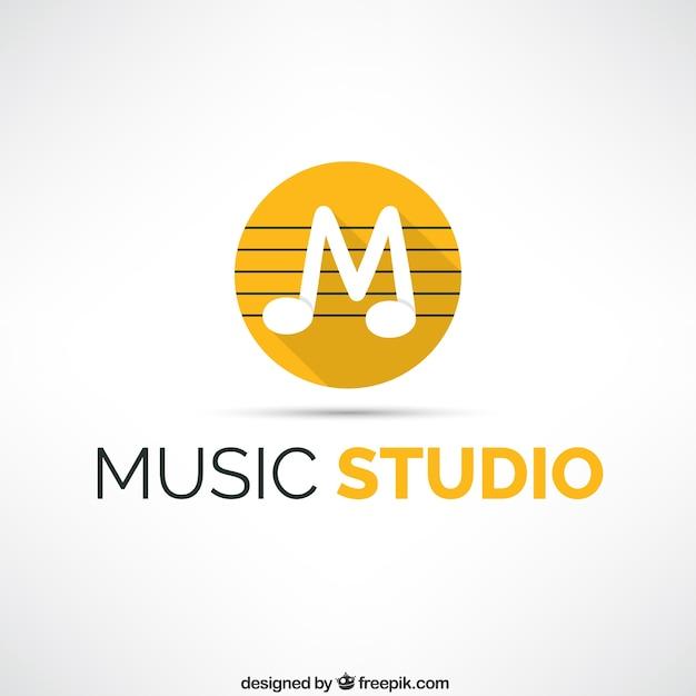 Music studio logo Vector | Free Download