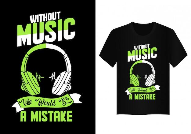 Music t shirt design typography Vector | Premium Download