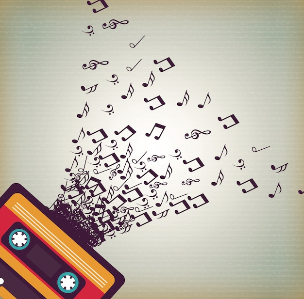 Musica Vettore gratuito