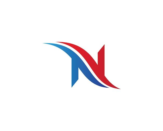 N letter symbol illustration Premium Vector