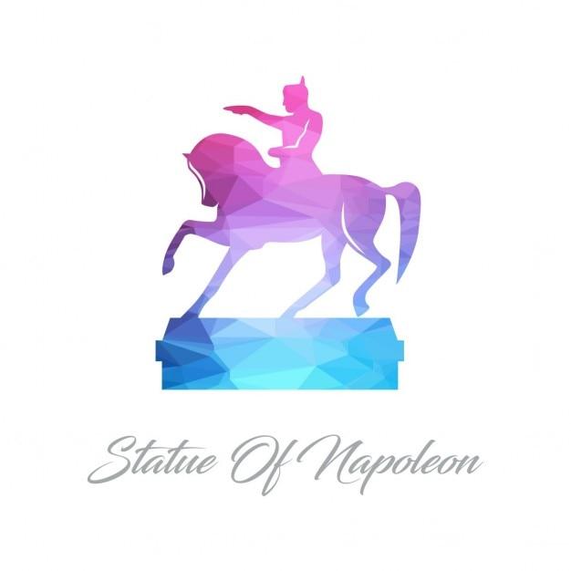 Napoleon, polygonal Free Vector