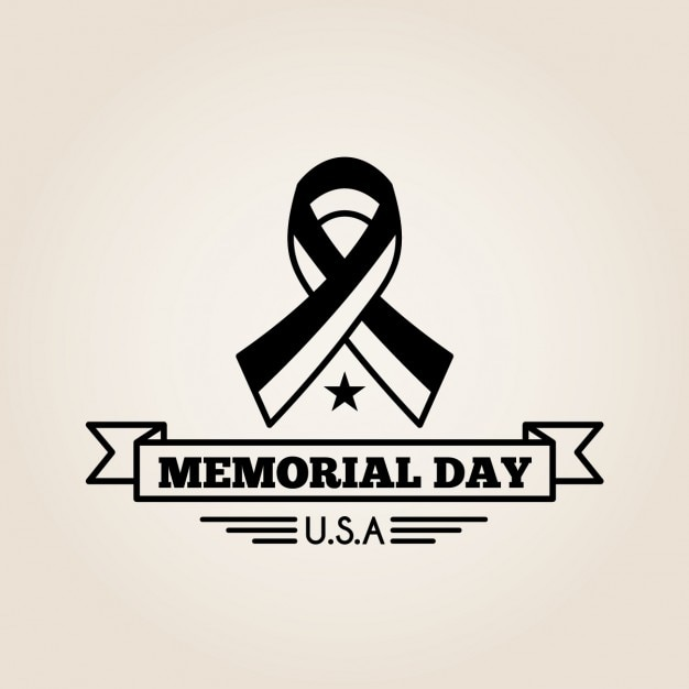 National memorial day background