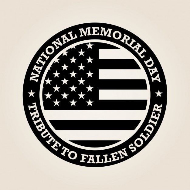 National memorial day design