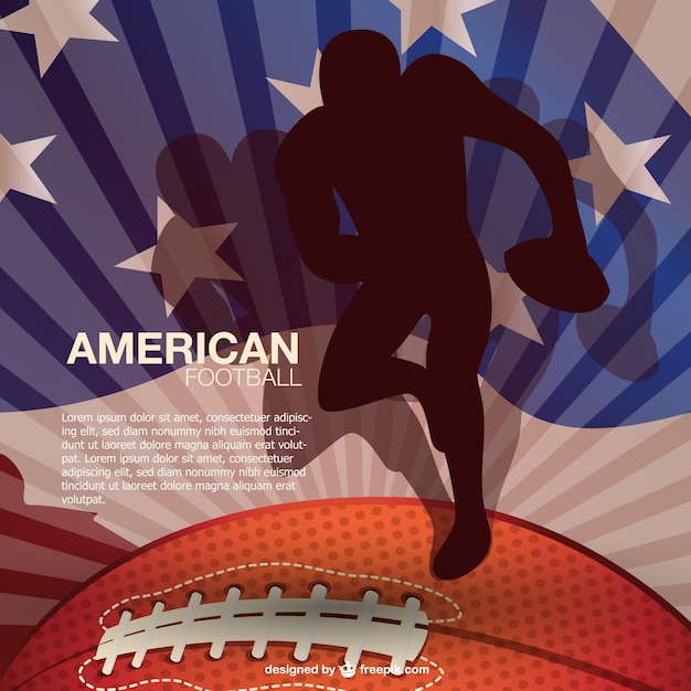 National sport American football\ background
