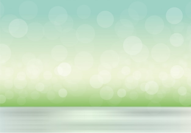 Natural background with blurred grass and sky Free Vector