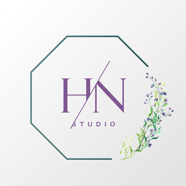 Natural logo design for branding and corporate identity Free Vector