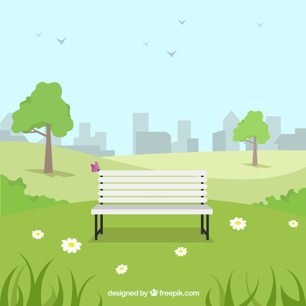 city park vector - photo #15