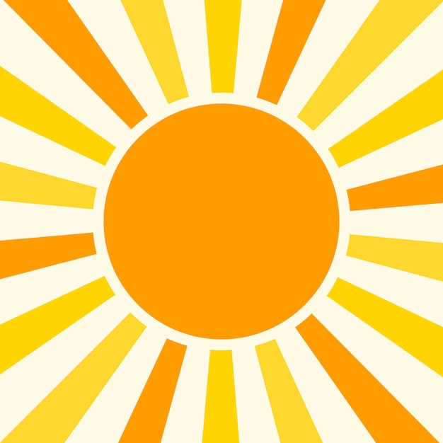 Natural sunny  background vector illustration Premium Vector