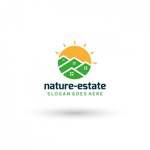 Nature Real Estate Logo Template Vector | Free Download