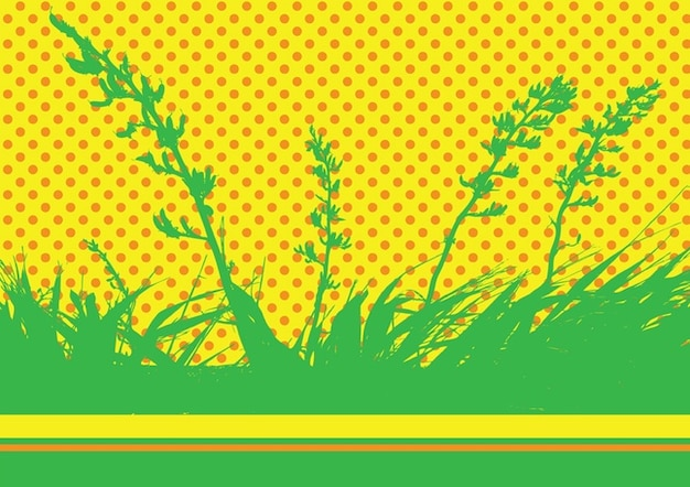 Nature Vector Pop Art