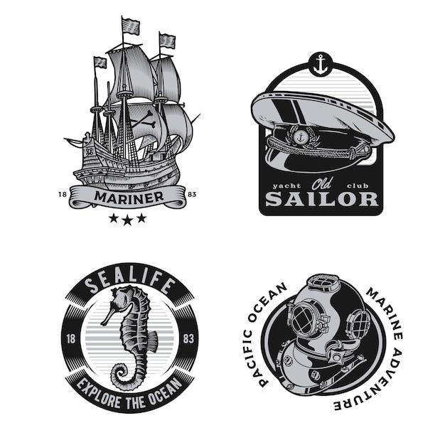 Nautical design Premium Vector