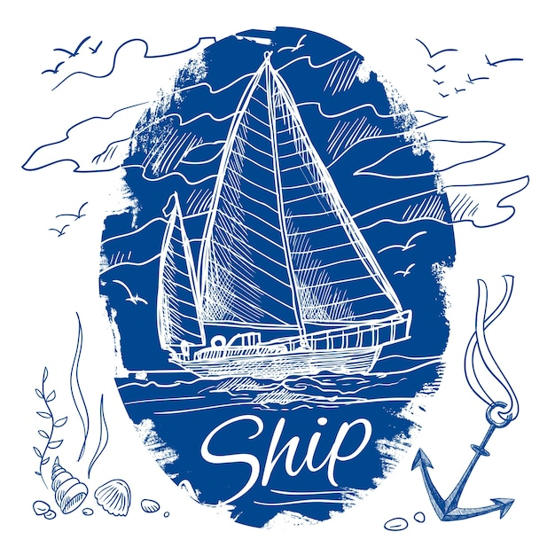 Schooner Ship Vectors, Photos and PSD files | Free Download