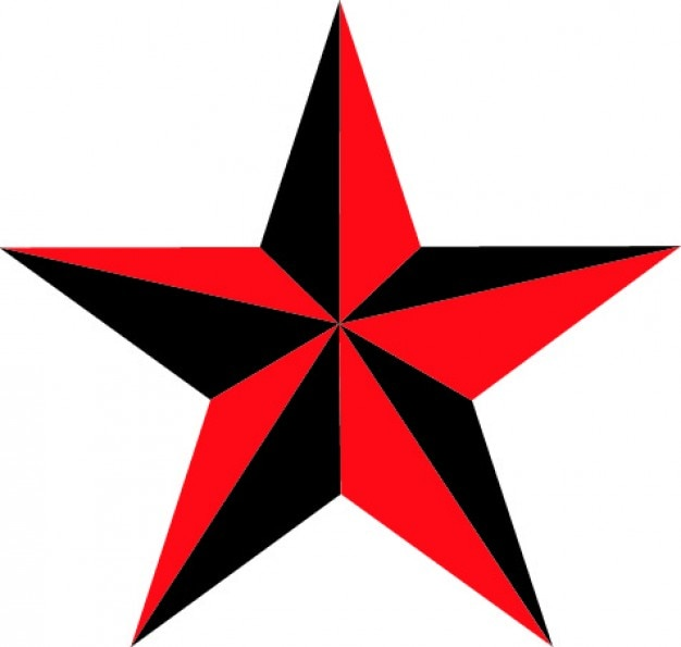 nautical star of five points vector free download rh freepik com nautical star vector free nautical star vector free