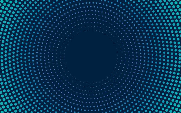 Navy gradient halftone background vector Free Vector