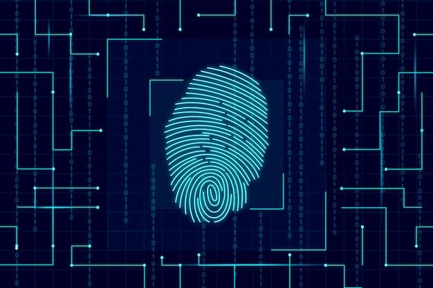 neon fingerprint wallpaper 23 2148385076