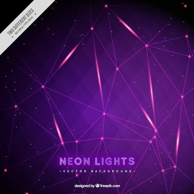 Neon lights background Vector | Free Download