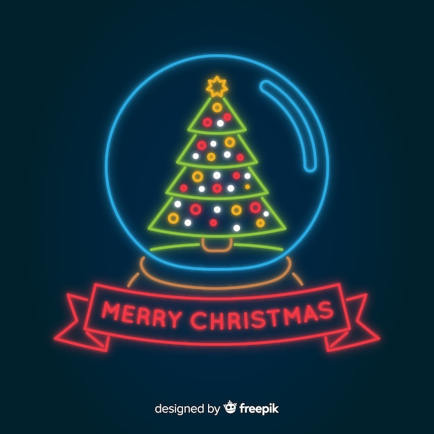 neon merry christmas background 23 2147980796