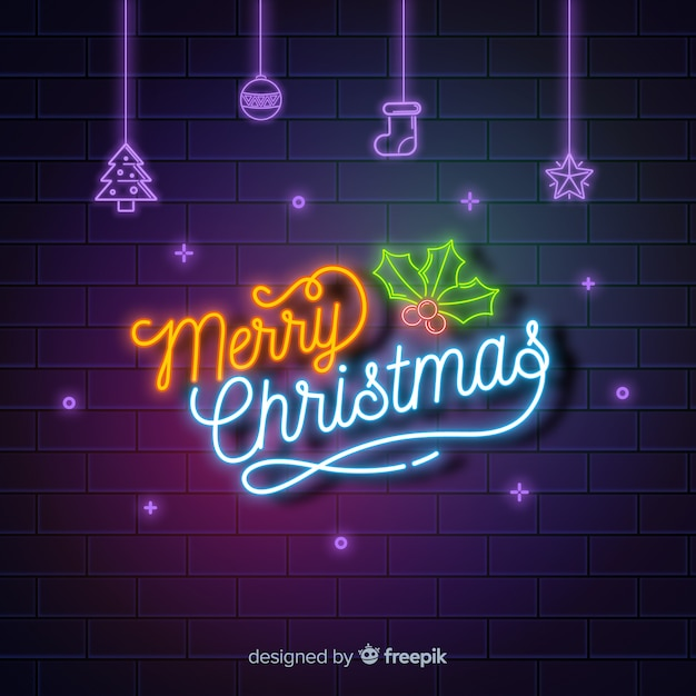 neon merry christmas background 23 2147990740
