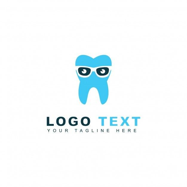 Nerd dentist logo