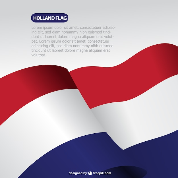 Netherlands flag Free Vector