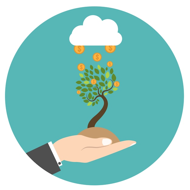 New business model. new business project start up. Premium Vector