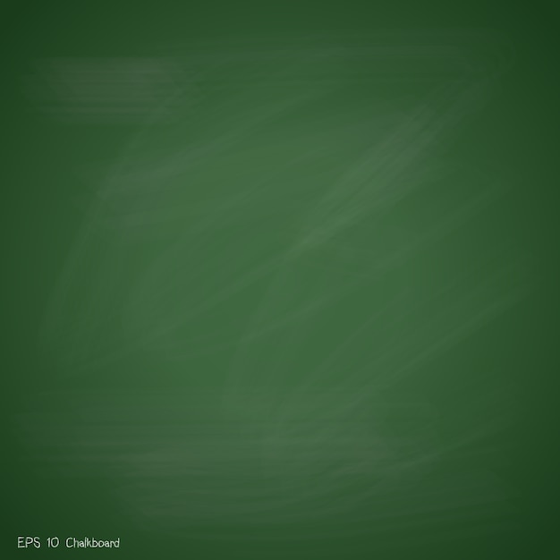 new green chalkboard background vector