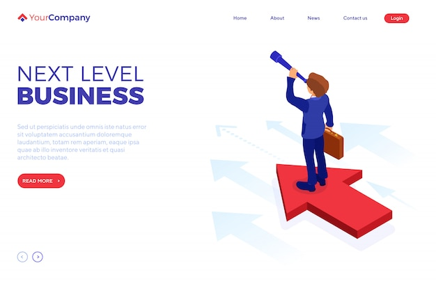 New opportunities to your business Premium Vector