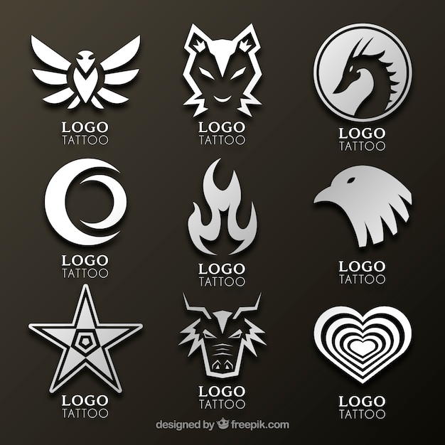 Fire logo vectors photos and psd files free download for Tattoo classes online free