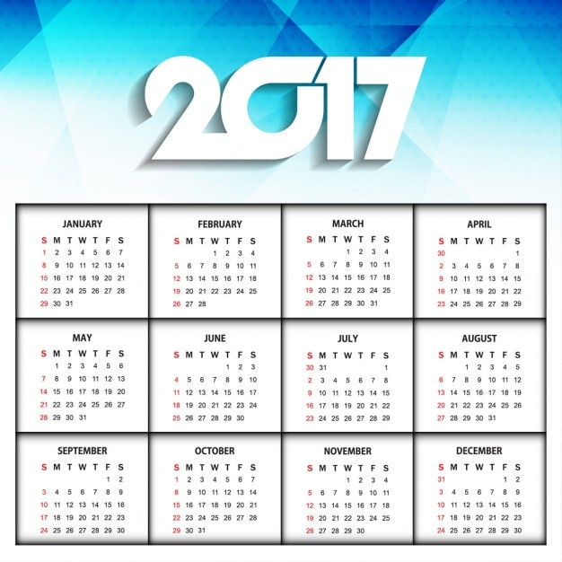 Calendar Design With Photos Free : New year modern calendar design vector free download