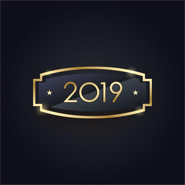 New year elegant Premium Vector