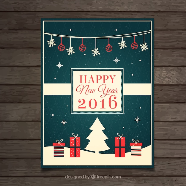 New year greeting card vector free download new year greeting card free vector m4hsunfo